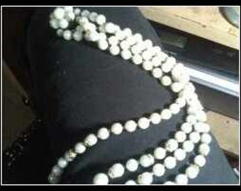 Pearl  Double Strand Necklace Made In Japan..Repair