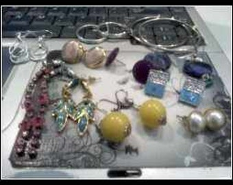 Earring Lot Mixed Metal