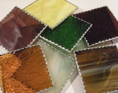 Hand made Stained Glass Coasters (Mix or Match!)