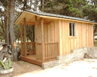 The Wood Shed --- Portable Building