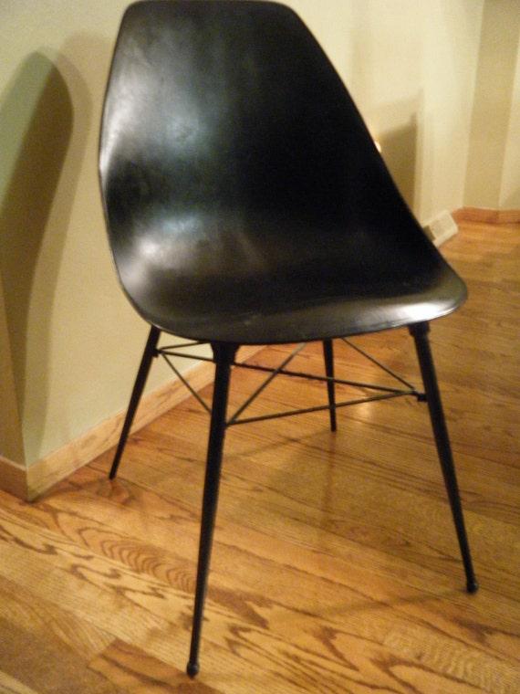 Sam Avedon Black Chair from Alladin Plastics.  2 Available.