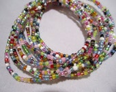 32 colors Stretch Bracelet, Seed Bead stretch Bracelet, Layered Bracelet, SM-1
