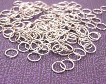 100pcs nickel look 6mm jump rings-1286