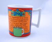 Retro Grog Mug / Made in Japan 1960s