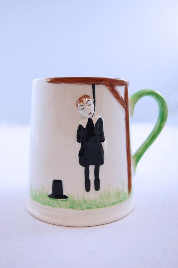 Carlton Ware Hanging Man Mug / Drinking