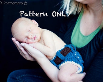 Instant Download PDF Denim Diaper Cover Pattern
