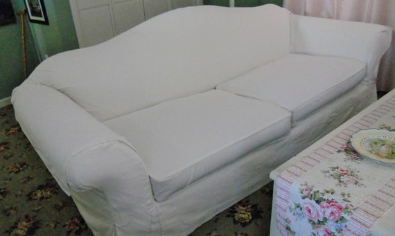 Custom Slipcover For Your Sofa Over 61 Inch With By Lharmondesign