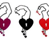 SALE - Bleeding Heart Necklace