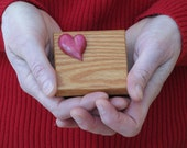 Wood Box Heart Trinket Box Jewelry Box Hand Made Hand Carved, Keepsake Box, Bedroom Decor, Wedding, Valentine's Day, Anniversary, Tooth Box - NorthWindCarvings