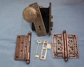 Antique door hardware set.