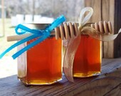 Baby Shower Gift, Tennessee Wildflower Honey 8oz Jar Set, Raw Honey, Honey Gift