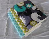 Daisy Doodle Dandy Burp Cloth Set