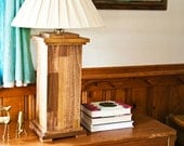 Handcrafted wood lamp - Column720