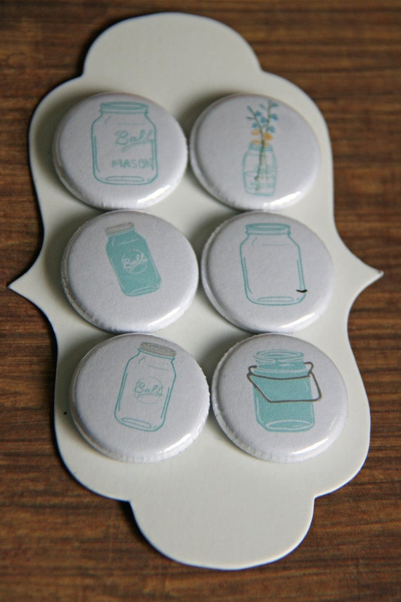 ball mason jar flair buttons