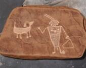 Dinosaur National Monument Petroglyph Wall Plaque