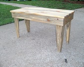 Knotty Pine Rustic Bench, perfect for any room of the house