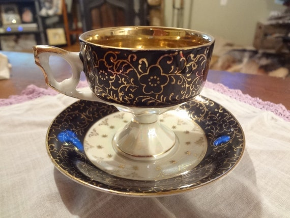 Vintage Tea Cup and Plate, Royal Ashley Fine China