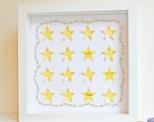 Personalized New Baby Gift - Twinkle, Twinkle, Little Star Lyrics