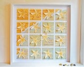 Beach Theme Starfish 3D Wedding Guestbook or Wedding Gift - Hand Painted