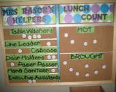 Classroom Job Chart/ Lunch Count