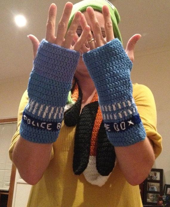 Dr.Who inspired Fingerless gloves