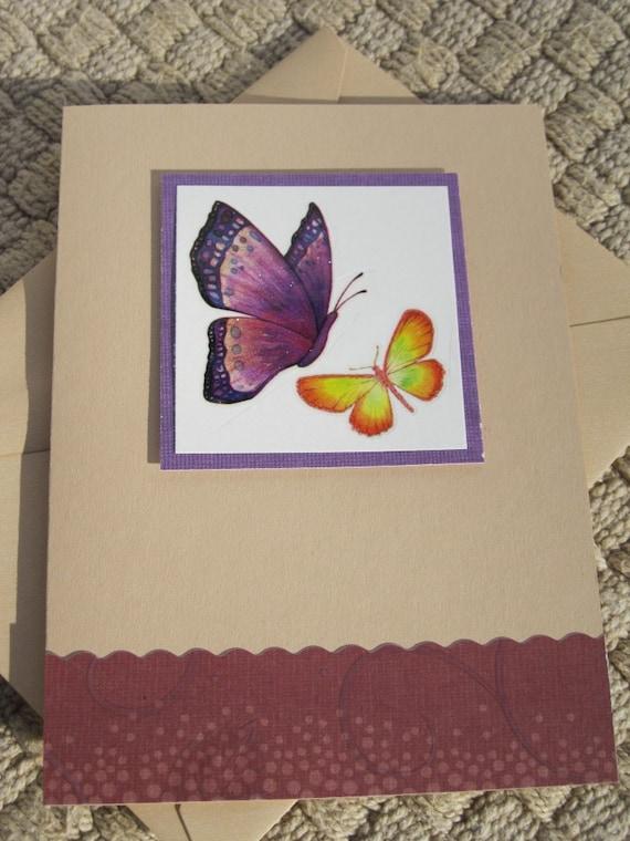 Anniversary, Butterflies, Purple, Red