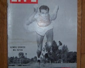 Vintage Magazine - Life Magazine August 2, 1948. Mel Patton the cover - Communisim - Olympics