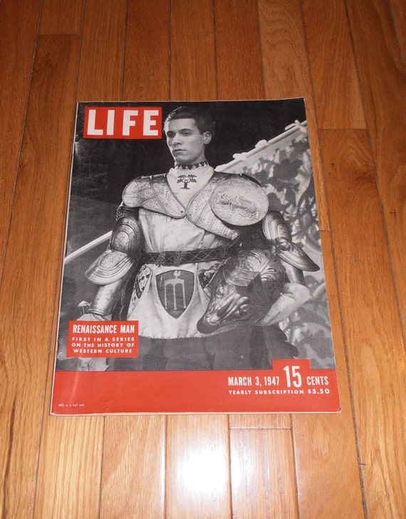 Vintage Life Magazine March 03, 1947 - Western Culture - Senator Ball - Red-Hunting