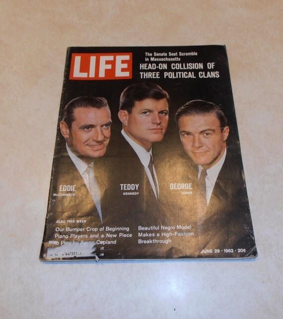 Vintage Life Magazine June 29, 1962