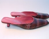 "size 39 STEPHAN KELIAN shoes  made in France circa1985""s"