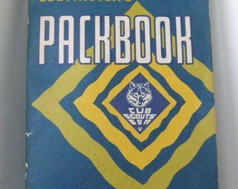 Vintage Cubmasters Packbook - 1970- Boy Scouts of America