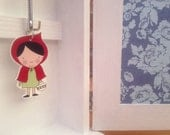 Little Red Keyring