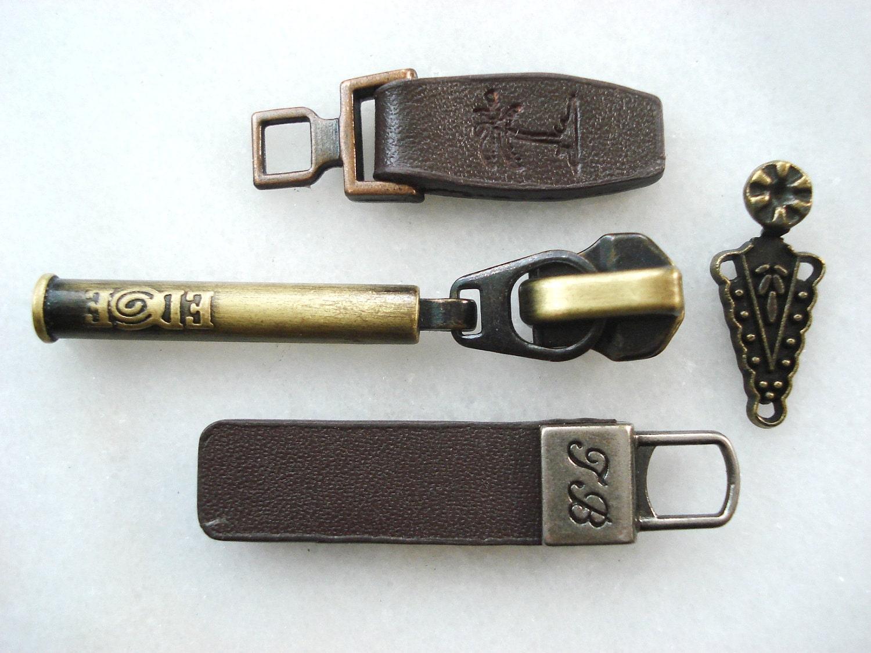 Vintage Zipper Pulls