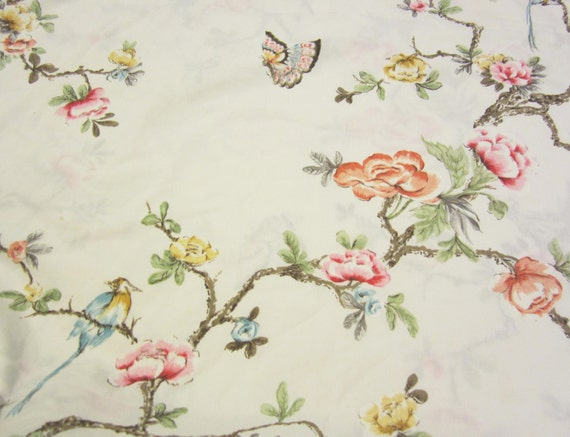 Birds and Butterflies- Flat Twin Size