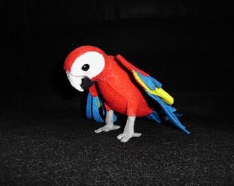 Scarlet Macaw Plush