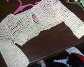 Crochet topper