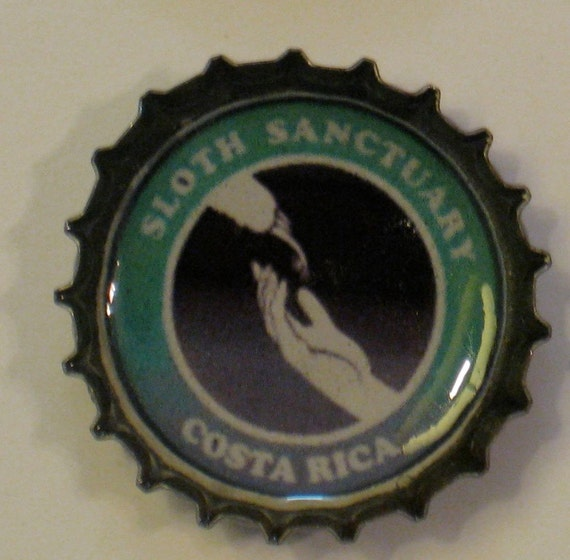 Any 2 Sloth Bottle Cap Magnets- Your Choice