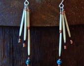Porcupine Quill Dangle Earrings