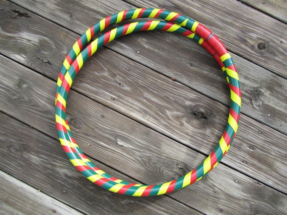 Rasta Collapsible Hula Hoop