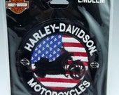 Genuine Harley Davidson New Patch for Biker Motorcycle Crafts Leather Jackets or Vests