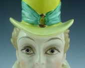 Rare Lucille Ball Head Vase by Rubens Originals With Documentation