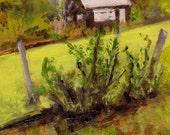 Hut - Original Landscape Painting