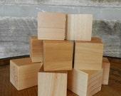 Building Blocks, Baby Blocks, 1.5 inch set of TEN