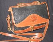 Dooney & Bourke All Weather Leather Navy Handbag
