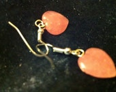 Blushing Hearts - five dollar earring special - Valentines day