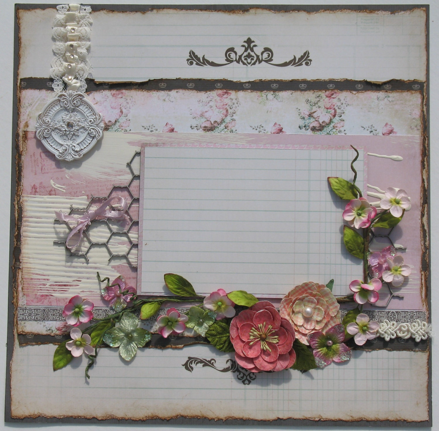 Shabby chic scrapbooking pictures to pin on pinterest for Chic vintage