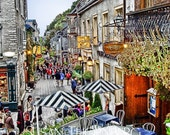 Charming town in Europe
