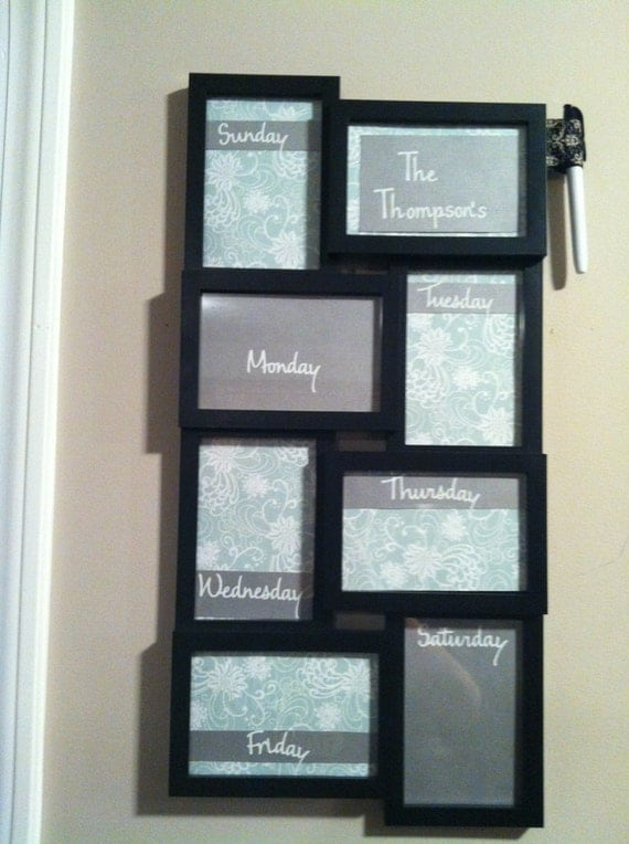 reserved listing for Kelly Blevins. Customized Week at at Glance Calendar, To do board