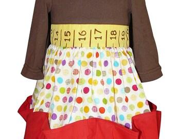 Tape measure dress