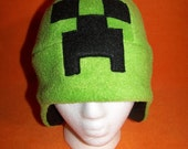 Creeper Minecraft hat